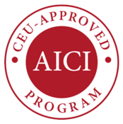 AICI CEU Approved logo